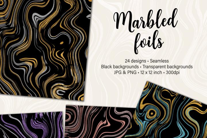 Marbled Foils