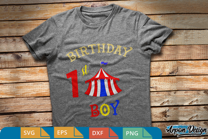 My 1st birthday, Birthday boy svg,eps,dxf,png