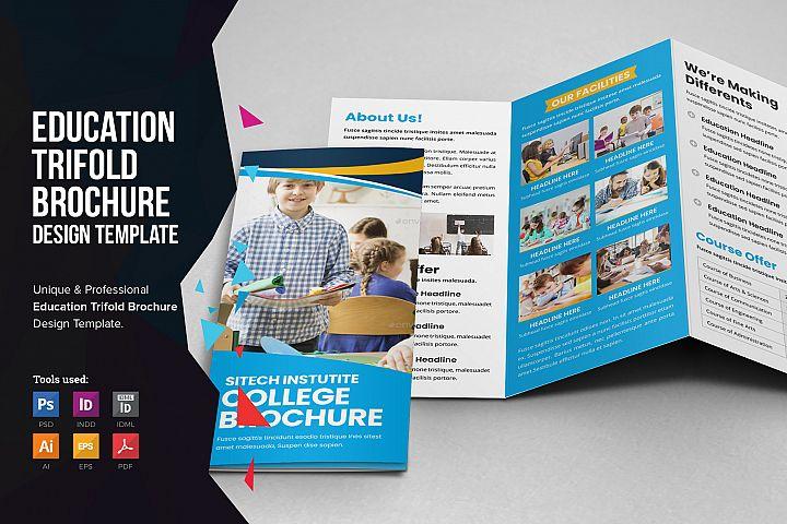 Education School Trifold Brochure v2