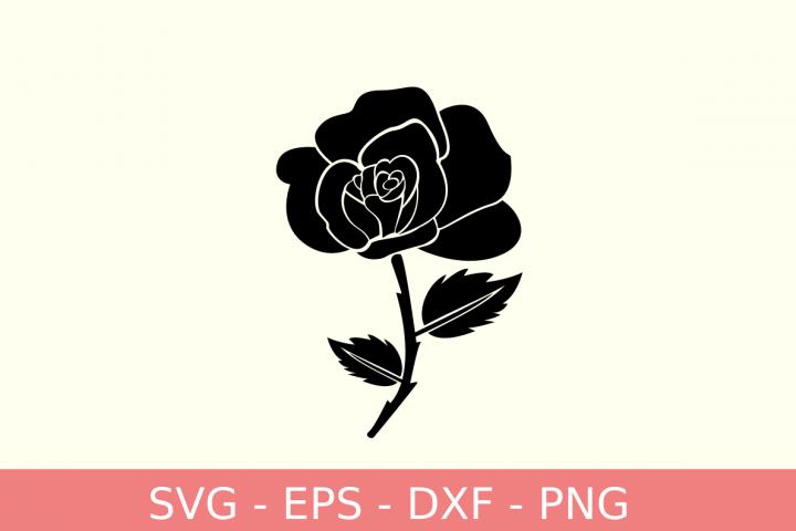 Rose flowers svg