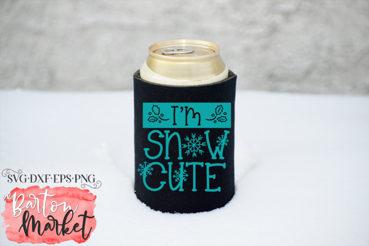 Im Snow Cute SVG DXF EPS PNG