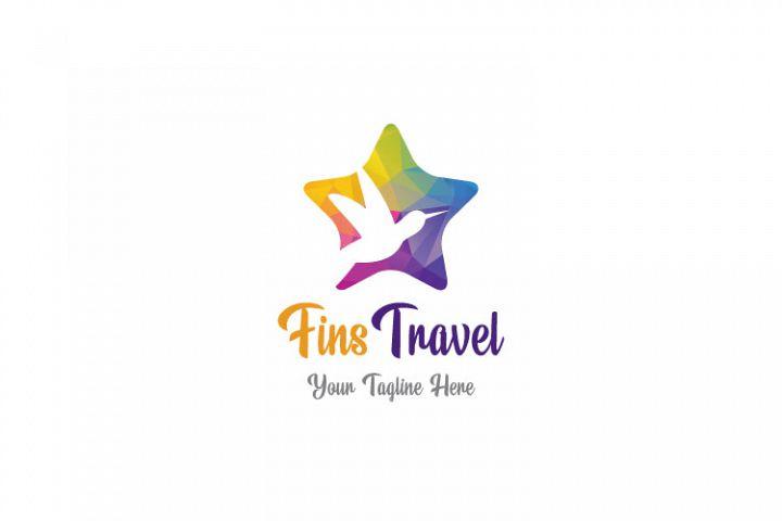 Flying Dove, Travel Logo