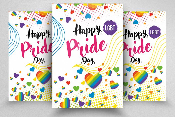 LGBT Pride Celebration Flyer