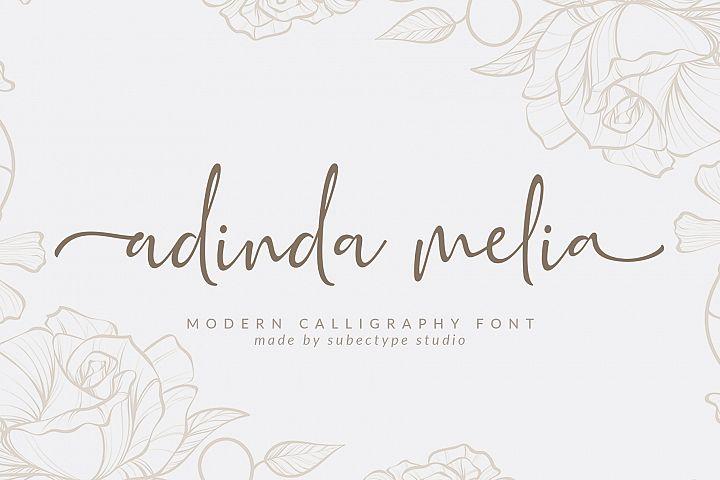 Adinda Melia / Handwritten Script