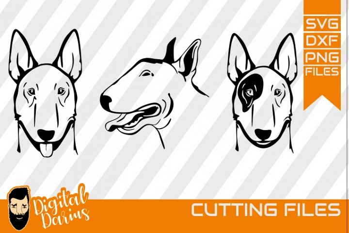 3x Pitbull Bundle svg, dog svg file, Puppy, Doggy, Cricut