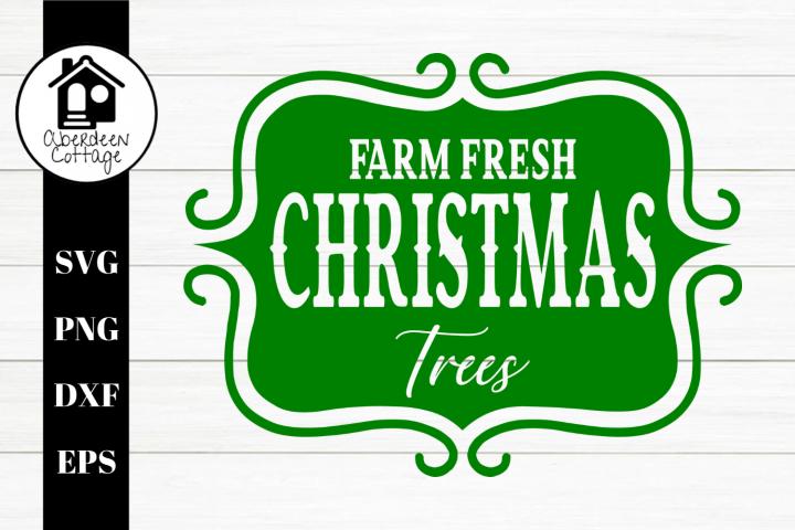 Farm Fresh Christmas Trees 2 SVG