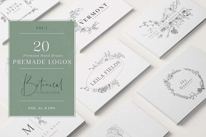 Logo Bundle Vol.1 - Botanical
