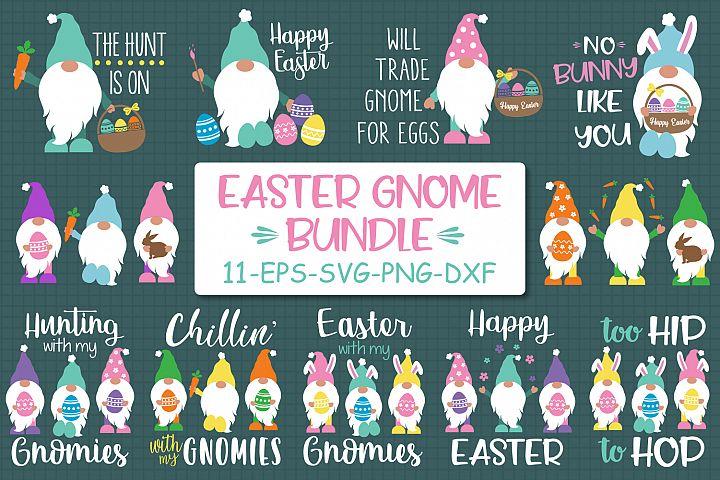 Easter Gnomes Bundle Svg