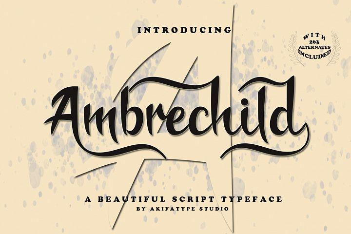 Ambrechild Script