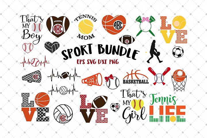Sport Bundle SVG Files
