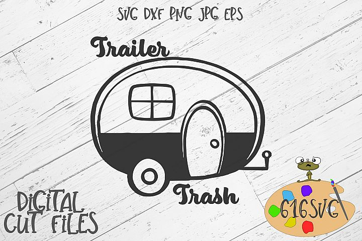 Trailer Trash SVG