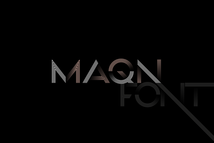 MAQN font