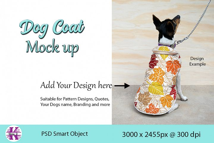 Dog Coat Mock Up PSD