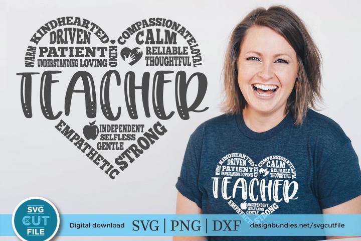 Teacher Subway Art - a Teacher appreciation SVG & DXF file