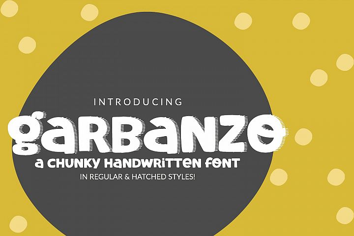 Garbanzo Handwritten Font