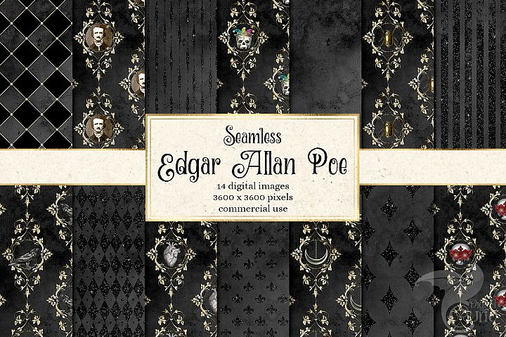 Edgar Allan Poe Digital Paper
