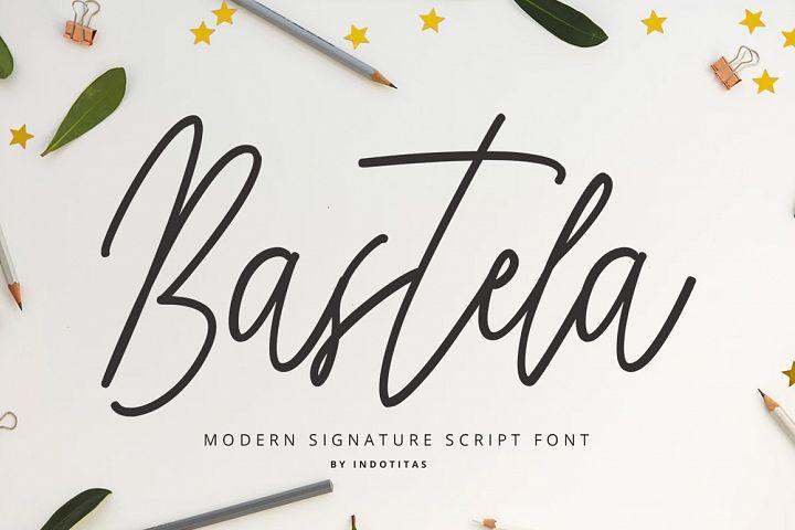 Bastela Signature Font