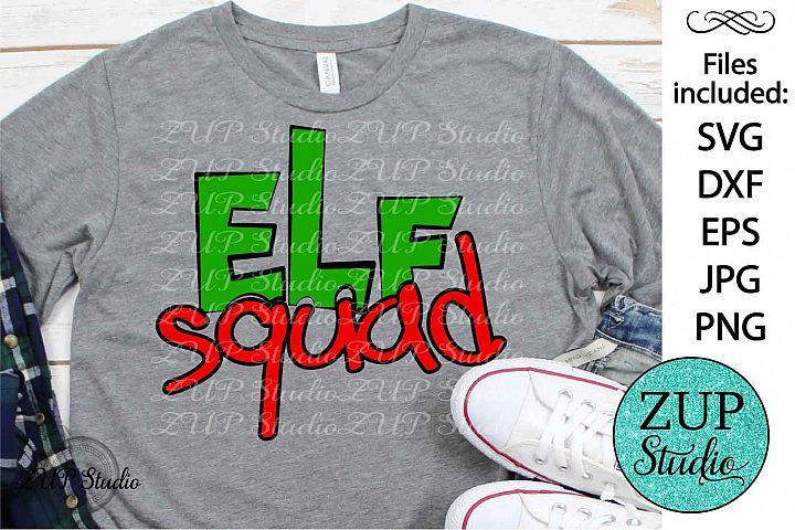 Elf Squad SVG Design Cutting Files 316