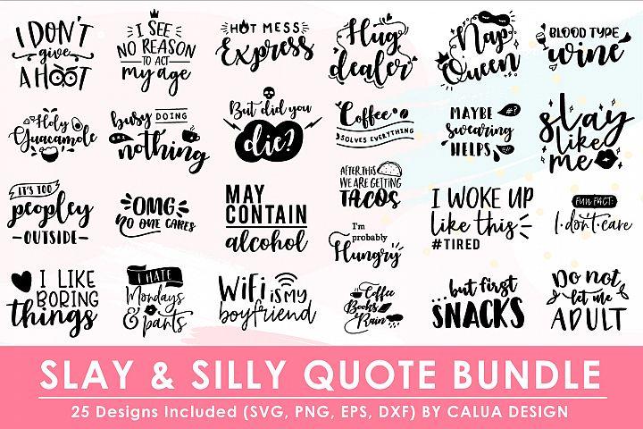 SLY & Silly SVG Cut File Bundle