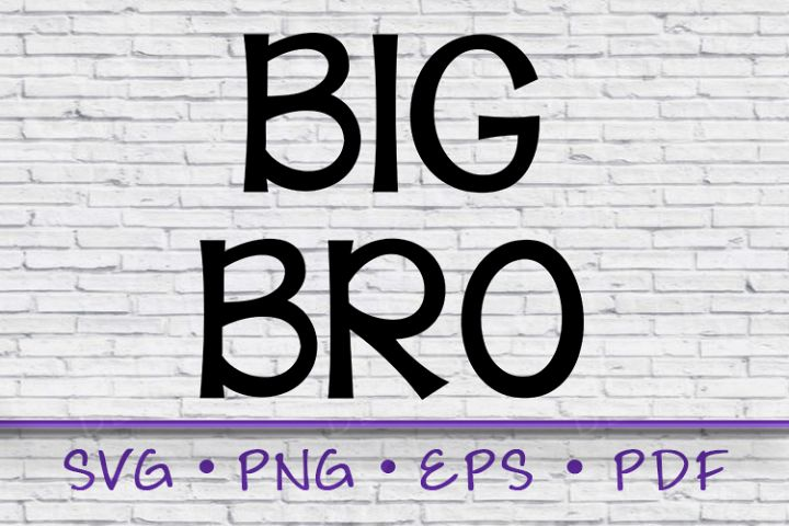 Big Brother, Big Bro, Big Bro SVG, Svg, big brother svg