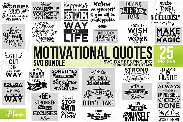 Motivational Quotes SVG BUNDLE.