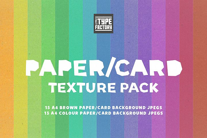 Craft Paper/Card Texture Pack