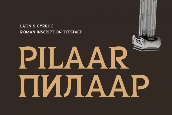 Pilaar Typeface