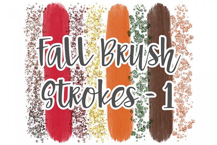 Fall Brush Stroke Set 1