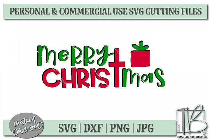 Merry Christmas SVG, Christmas Cut file example 2