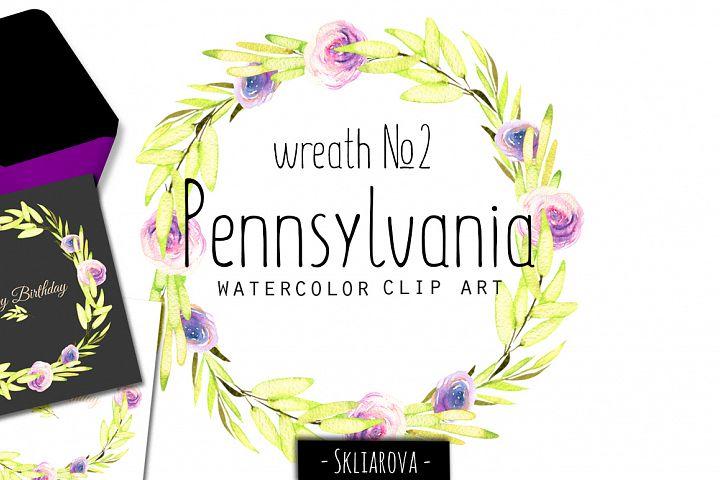 Pennsylvania. Wreath #2