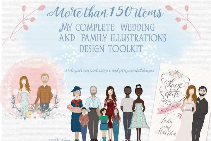 Set of Wedding and Family resources