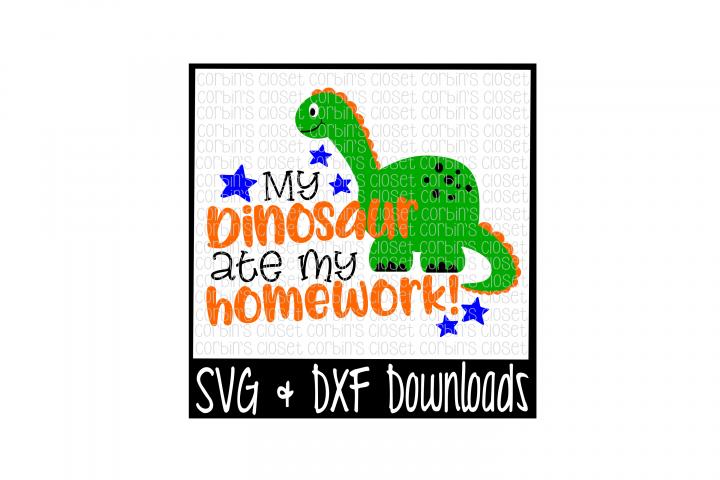 My Dinosaur Ate My Homework