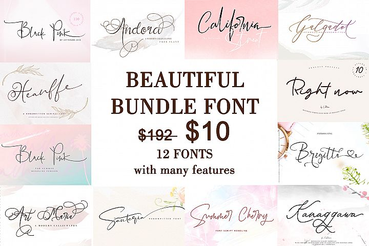 Beautiful Bundle Font
