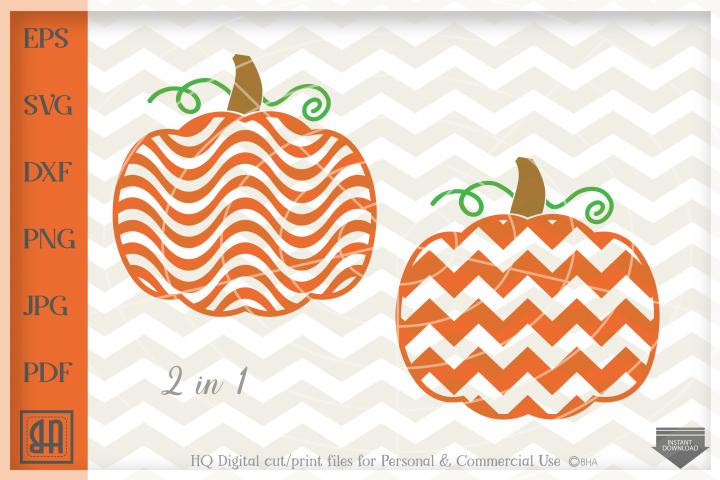 Pumpkin chevron Svg, Thanksgiven pumpkin Svg, Pumpkin svg