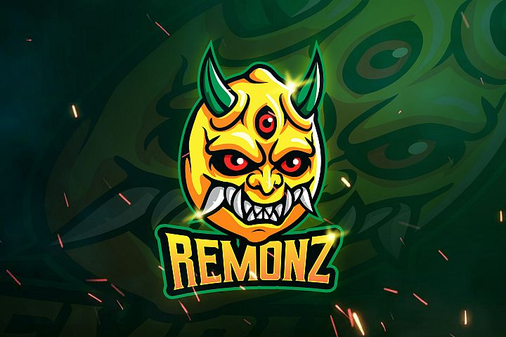 REMONZ - Mascot & Esports Logo