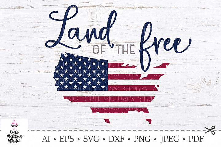 America svg. 4th of July SVG Cut file. USA Independence Day.