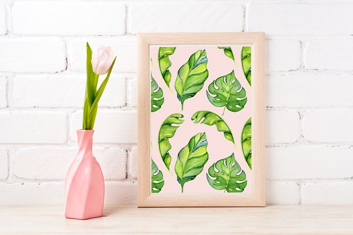 Tropical Wall Art Printable - Instant Digital Download