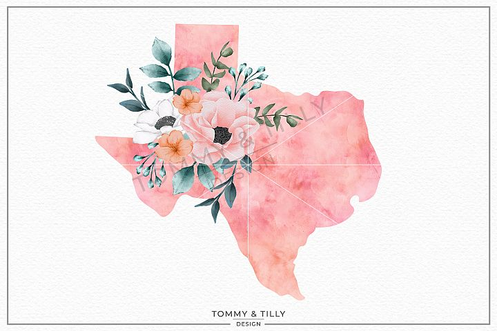 Texas State - Sublimation | PNG | Clipart
