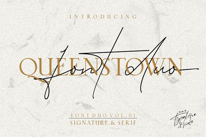 Queenstown // Font Duo Vol.01