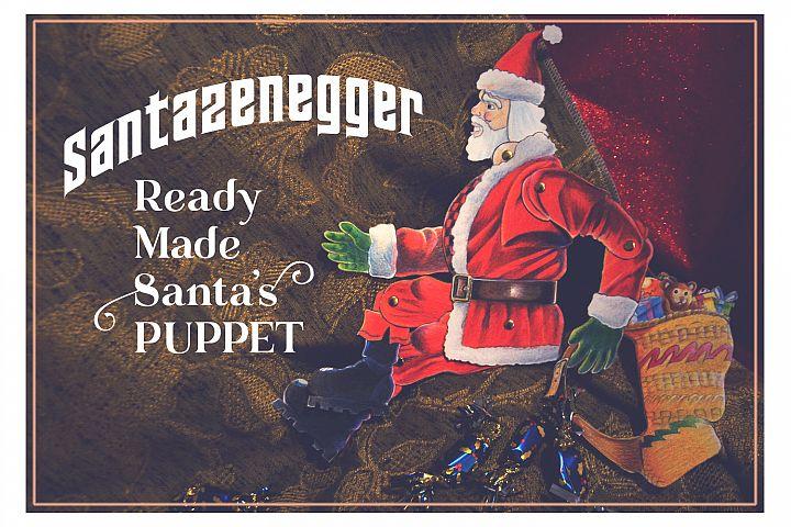 Xmas Santazenegger - Hand drawned Puppet Maker