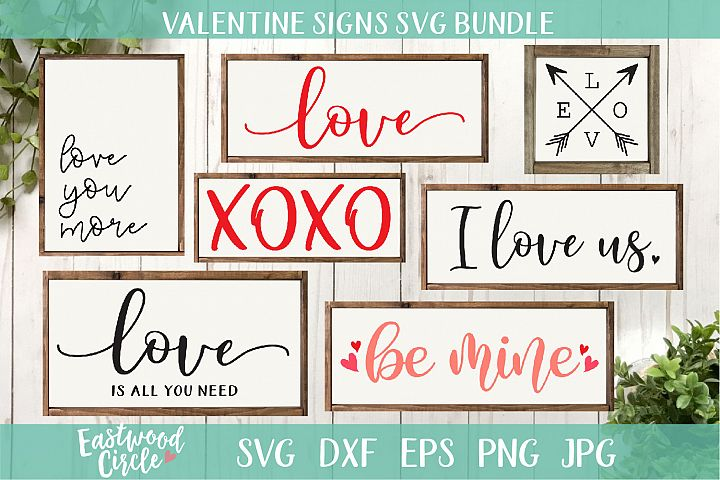 Valentines SVG Cut File Bundle for Crafters