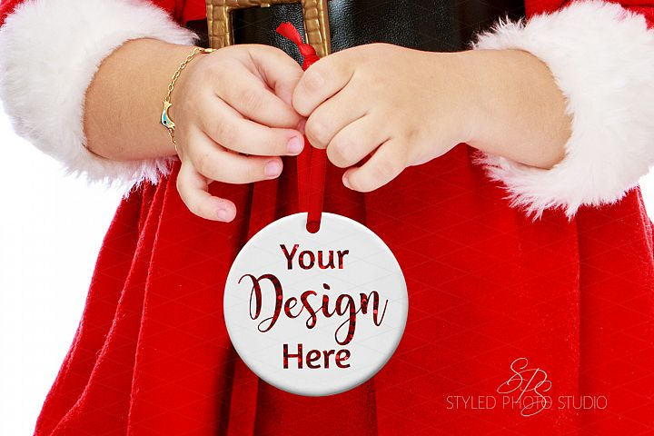 Christmas Ornament Mockup for kids, big brother, big sister