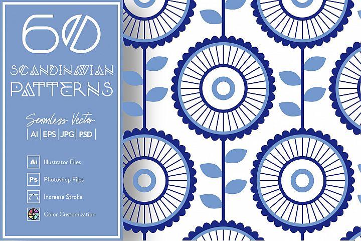 60 Scandinavian Patterns