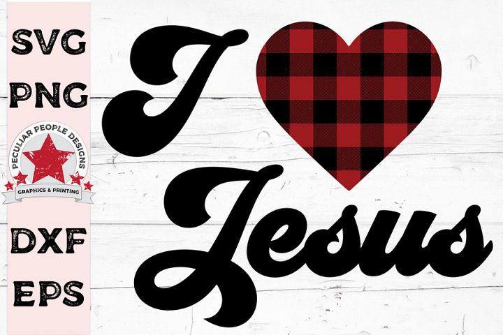I Love Jesus svg cutting file plus bonus