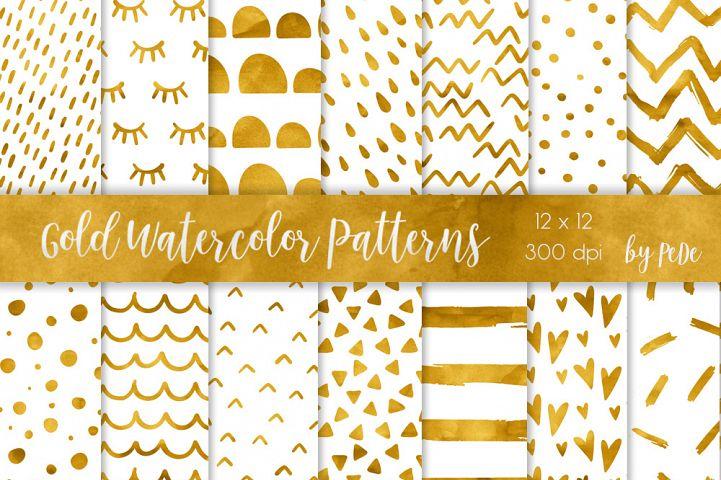 Gold & Metallic Patterns