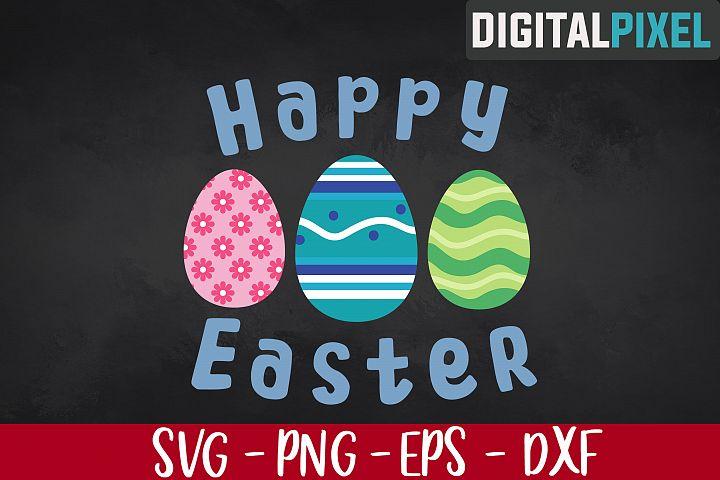 Happy Easter SVG, Easter SVG PNG EPS | Easter Crafters SVG