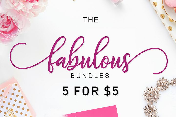 THE FABULOUS BUNDLES 5 FOR $5