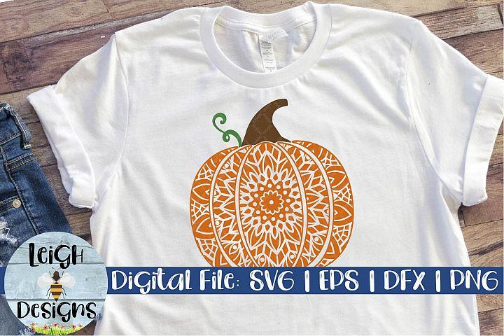 Mandala Pumpkin Digital Design 2