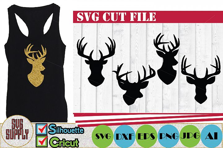 Reindeer SVG Cut files