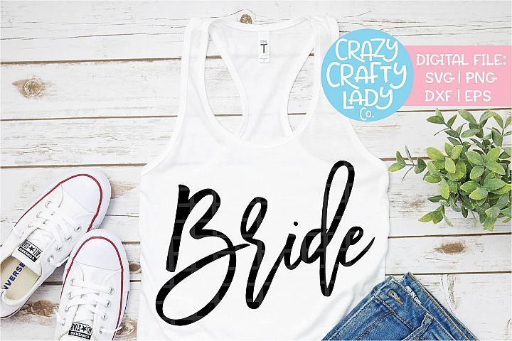 Bride Wedding SVG DXF EPS PNG Cut File